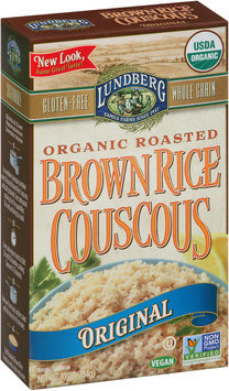 Lundberg® Organic Original Roasted Brown Rice Couscous 10 oz. Box
