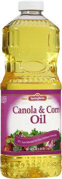 Springfield® Canola & Corn Oil 40 fl oz Plastic Bottle