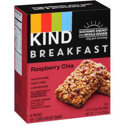 KIND® Raspberry Chia Breakfast Bars