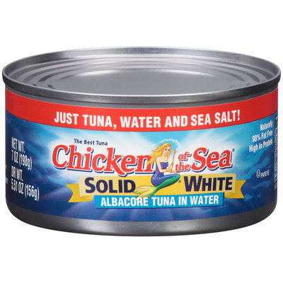 Chicken of the Sea® Solid White Albacore Tuna in Water 7 oz. Can