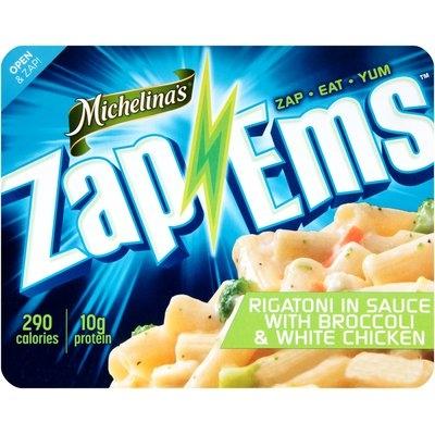 Michelina's® Zap 'Ems™ Rigatoni in Sauce with Broccoli & White Chicken 7.5 oz. Tray