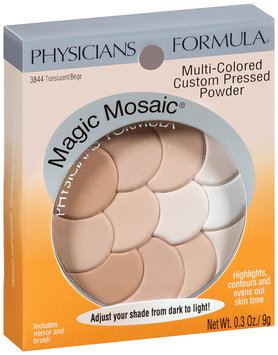 Physicians Formula® Magic Mosaic® Translucent/Beige Custom Pressed Powder 0.3 oz Peg