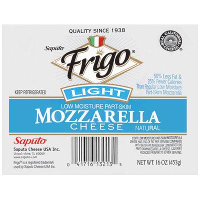 Frigo® Light Mozzarella Cheese 16 oz.