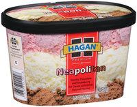 Hagan Neapolitan Ice Cream 1.5 Qt Carton