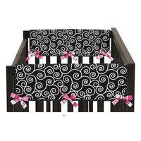 Sweet Jojo Designs Madison Side Crib Rail Guard Cover