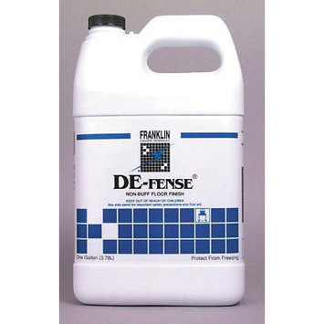 Franklin Cleaning De-fense Non-Buff Floor Finish Bottle