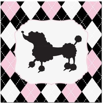 Secretly Designed Princess Poodle Art Print Size: 12