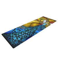 Kess Inhouse Blue Fairy by Mandie Manzano Yoga Mat