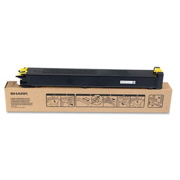 Sharp MX31NTYA Toner, 15,000 Page-Yield, Yellow