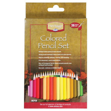 Alvin & Company Heritage HCP36 36-Piece Colored Pencil Set