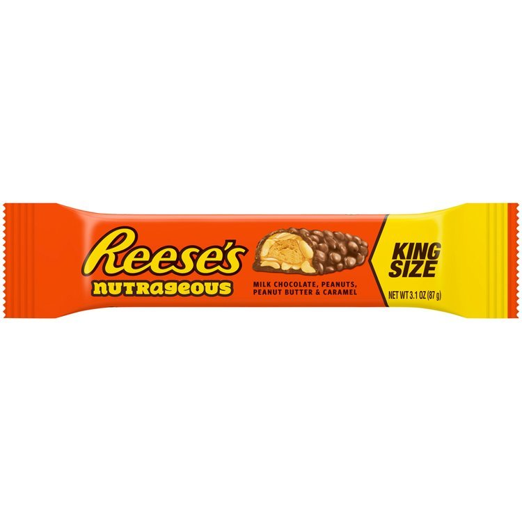 Reese's Nutrageous Candy Bar 3.1 oz. Wrapper