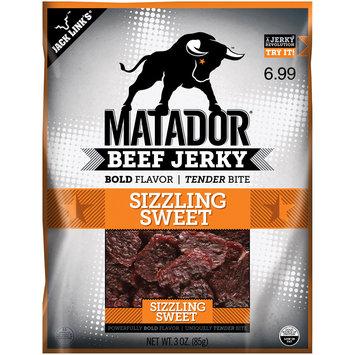 Matador® Sizzlin Sweet Beef Jerky 3 oz. Bag