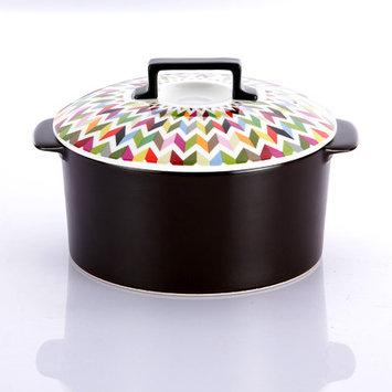 French Bull Ziggy Super Cooker 1.9-qt. Ceramic Round Dutch Oven