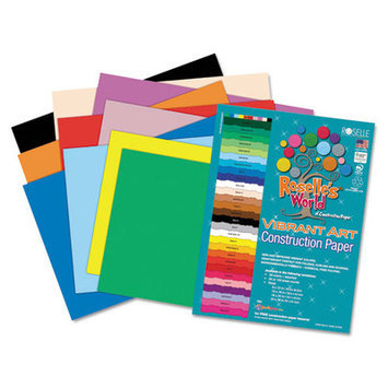 ROSELLE PAPER COMPANY INC ROS60002 ASSTD CONSTRUCTION PAPER 12X18 50