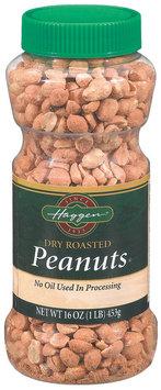 Haggen Dry Roasted  Peanuts 16 Oz Plastic Jar