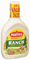 Nalley Homestyle Ranch Dressing 24 Oz Plastic Bottle