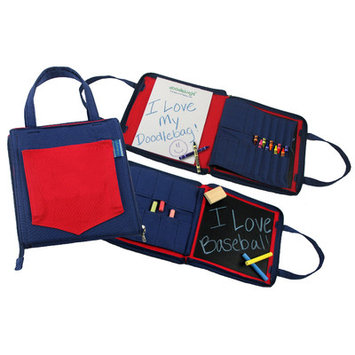 Princess Linens 164R Doodlebugz Red and Blue Doodlebag