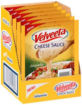 Velveeta Jalapeno Cheese Sauce 6-4 oz. Pouches Display