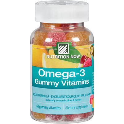 Nutrition Now® Omega-3 Gummy Vitamins 60 ct. Bottle