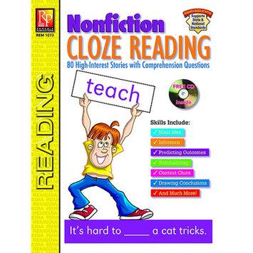 Remedia Publications REM1073 Nonfiction Cloze Reading
