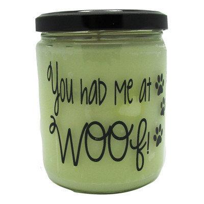 Starhollowcandleco You Had Me At Woof Vanilla Jar