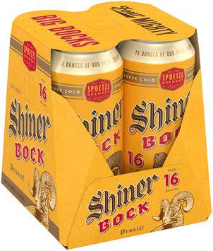 Shiner® Bock Beer 4–16 fl. oz. Cans