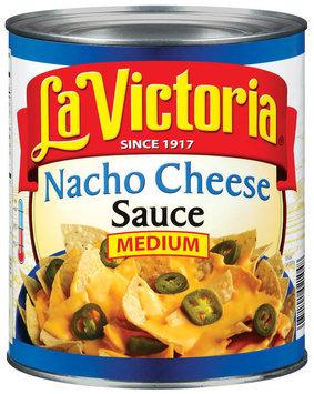 La Victoria® Medium Nacho Cheese Sauce 106 oz. Can