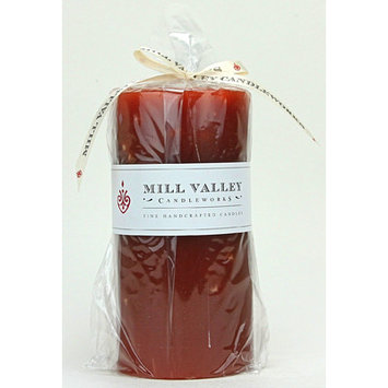 Mill Valley Candleworks Pumpkin Spice Scented Pillar Candle Size: 6