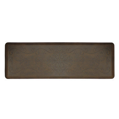 Wellness Mat Llc Wellness Mats Motif ME62WMR Entwine Anti Fatigue Mat Antique Dark