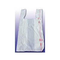 Barnes Paper Company High-Density Shopping Bag in White