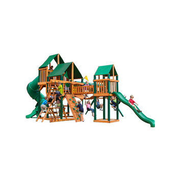 Gorilla Playsets Treasure Trove Deluxe Swing Set Kit