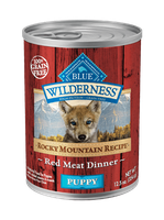 THE BLUE BUFFALO CO. BLUE™ Wilderness® Rocky Mountain Recipe™ Red Meat Recipe For Puppies