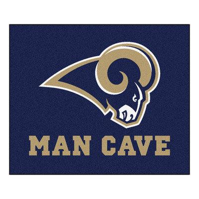 Sls Mats Fan Mats FAN-14375 St. Louis Rams NFL Man Cave Tailgater Floor Mat - 60in x 72in