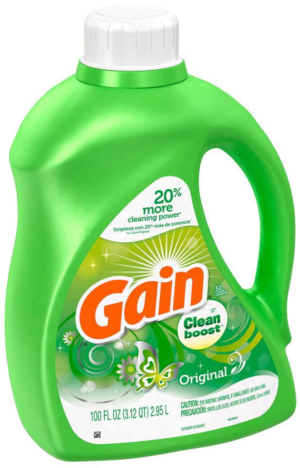 Gain with Clean Boost™ Original Liquid Detergent 100 fl. oz. Bottle