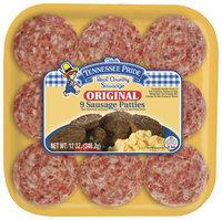 Tennessee Pride Original 9 Ct Sausage Patties 12 Oz Tray