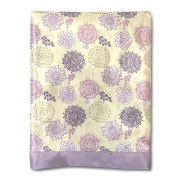 Farallon Brands The Peanut Shell Dahlia Blanket
