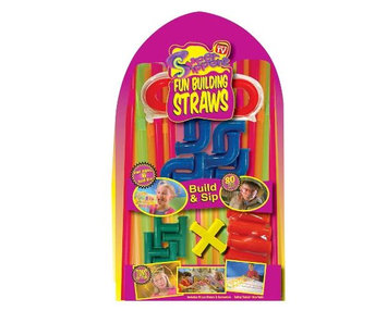 As Seen on TV® Super Sipperz Fun Building Straws