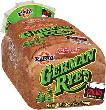 Butternut® German Rye Special Recipe Bread 16 oz. Bag