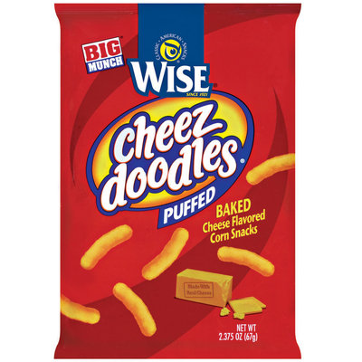Wise Puffed $.99 Big Munch Cheez Doodles 2.375 Oz Bag