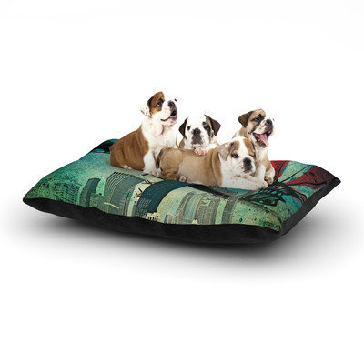 Kess Inhouse 'Chicago' Dog Bed, 28 L x 18 W