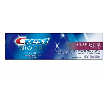 Crest® 3D White Luxe Glamorous White Toothpaste Vibrant Mint