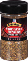 McCormick® Grill Mates® Worcestershire Peppercorn Burger Mix-In Seasoning