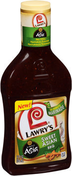 Lawry's® Simply Asia® Sweet Asian BBQ 30 Minute Marinade 12 fl. oz. Bottle