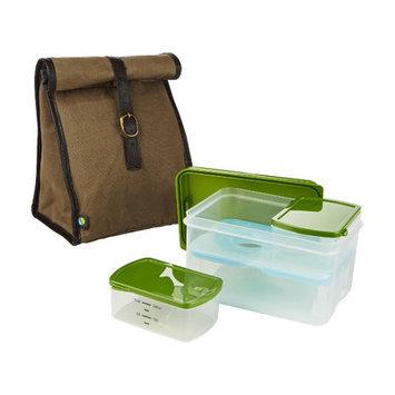 Fit & Fresh Men's 6 Piece Classic Lunch Bag Set