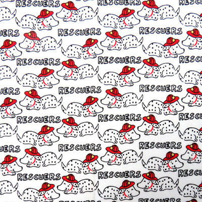 Stwd Rescue Dogs Pack N Play Fitted Playard Sheet
