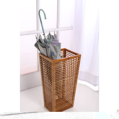 Ktw Products Open Slats Entry-Way Umbrella and Walking Canes Storage