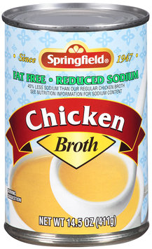 Springfield® Chicken Broth 14.5 oz. Can