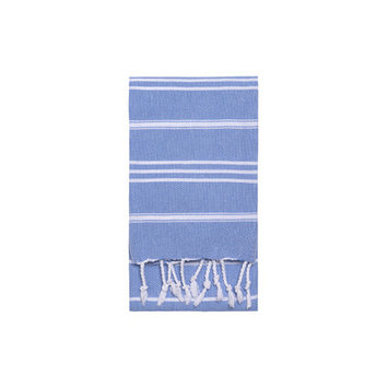 Nine Space Stripe Hand Towel 2 ea, 31 x 15, Blue, 1 ea