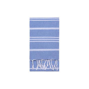 Nine Space Stripe Hand Towel 2 ea, 31 x 15, Blue, 1 ea