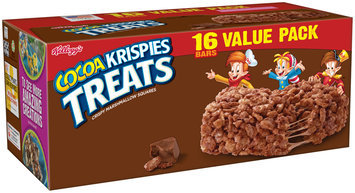 Kellogg's® Cocoa Krispies Treats™ Crispy Marshmallow Squares 16-0.7oz. Bars